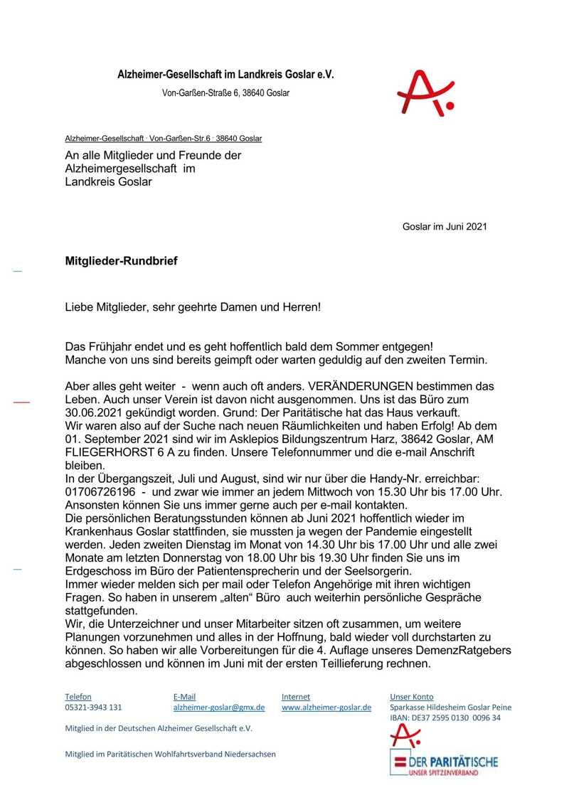 Alzheimer-Gesellschaft im Landkreis Goslar e.V.